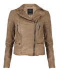 All Saints Hardy Leather Jacket