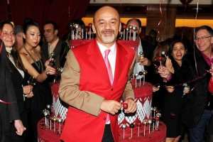 Christian Louboutin at 20th Anniversary Party
