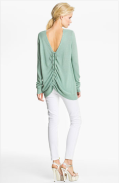 Rachel Zoe 'Abigail' Drawstring Back Sweater